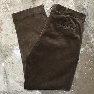 Polo Golf Ralph Lauren Corduroy Pants BROWN W : 36