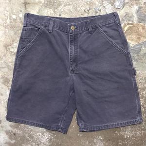 Carhartt Work Shorts BLUE W : 34