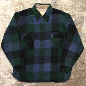 60's Briarcliff CPO Wool Shirt