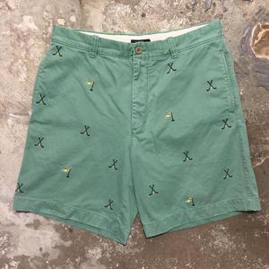 J.CREW Cotton Shorts GREEN  W: 34