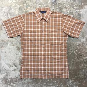 ~80's VAN HEUSEN Plaid Box Shirt