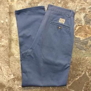 Polo Ralph Lauren Cotton Two Tuck Pants BLUE GRAY (Dead Stock)