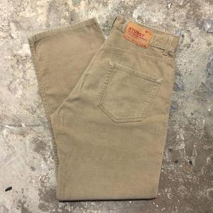 90's~ STUSSY Corduroy Pants BEIGE