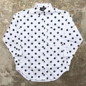 theme L/S Cotton Dot Shirt