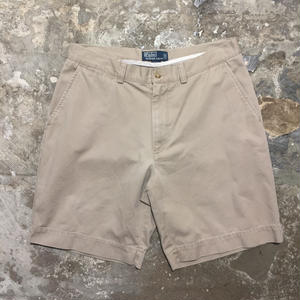 Polo Ralph Lauren Cotton Shorts BEIGE W: 33