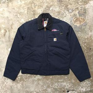 90's Carhartt  Detroit Jacket NAVY