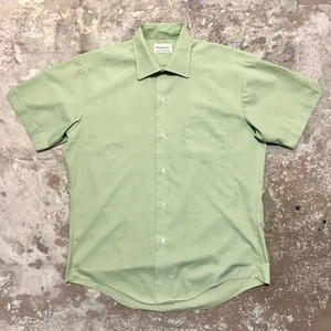 70's Unknown PERMA-PREST S/S Shirts GREEN