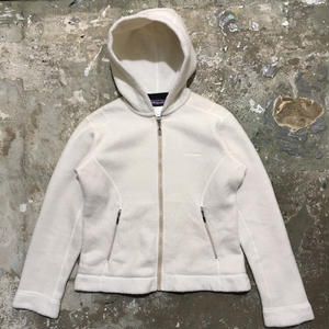 Patagonia Synchilla Fleece Hooded Jacket OFF WHITE