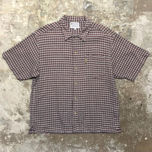 Columbia Cotton Plaid Shirt
