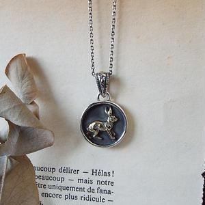 【一点物】うさぎのネックレス