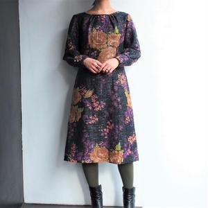 Made in Sweden Flower patterned dress