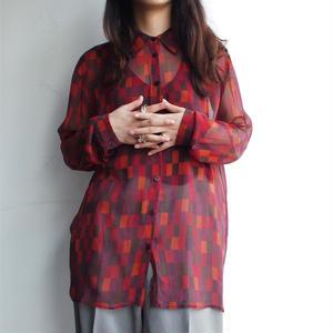 Silk Plaid shirt