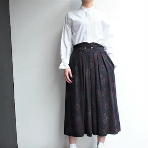 Deep Paisley long skirt