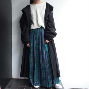 Black long mods coat