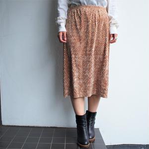 waffle velor skirt