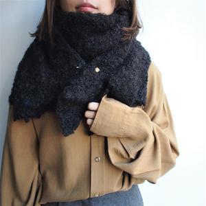 Wool  Big shawl with  tie pin