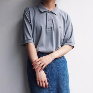 LACOSTE Polo Shirt  gray
