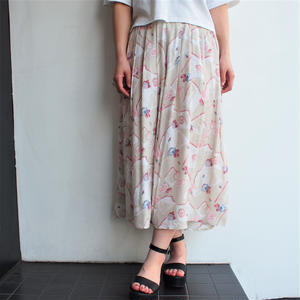 Made in UK Flower print skirt