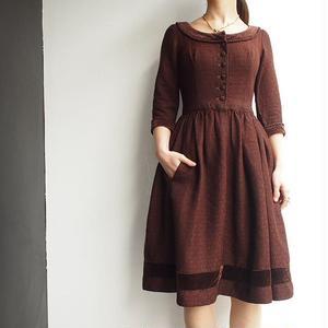 1950's~ one piece dress