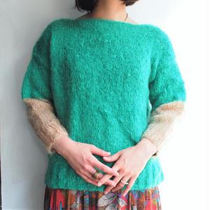 Hand wool knit