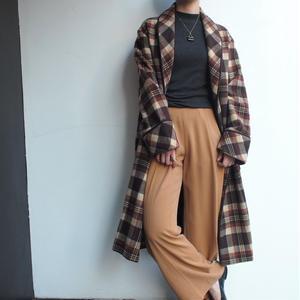 1970's Wool gown coat