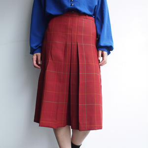 Made in Portugal  Plaid skirt
