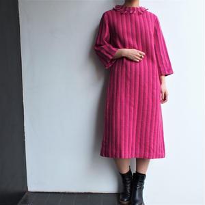 Stripe wool  dress