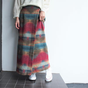 Made in Italy wool skirt