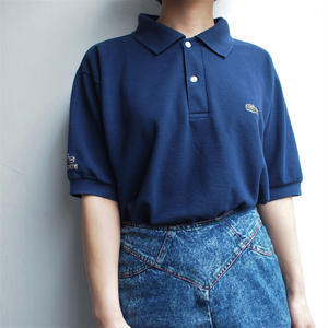 Made in France LACOSTE Polo Shirt navy