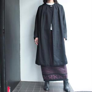 1950's Black grosgrain coat