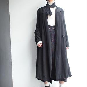1910's 1920's Silk long coat
