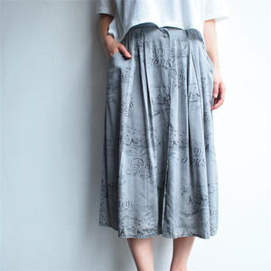 Made in Finland Silver front button skirt