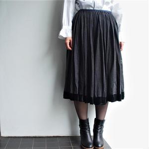 1930's cotton gather skirt