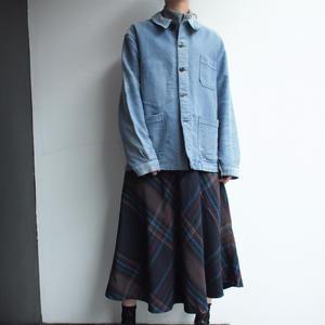 made in France 1950's〜 moleskin work jacket