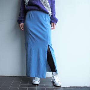 Light blue long skirt
