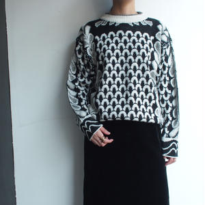 Made in Italy Black & white knit