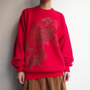 made in Italy knit sweat