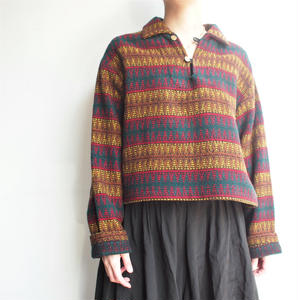 1950's remake native pattern tops
