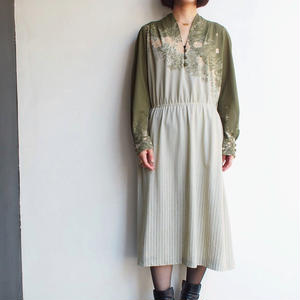 Matcha Green No collar dress