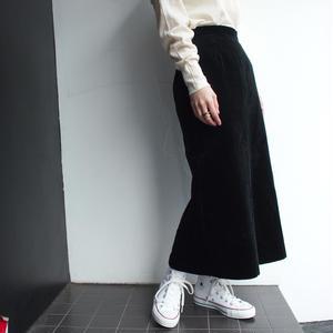 Made in Finland Velours long skirt
