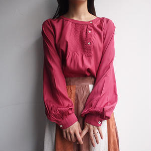 Made in Italy pink blouse