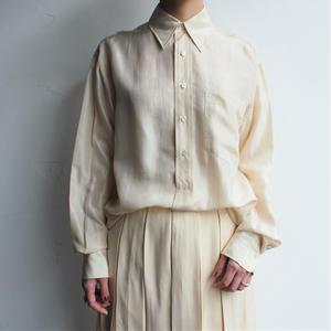 【RALPH LAUREN 】Silk blouse
