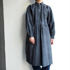 Early 1900's linen Black long blouse