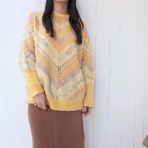 Yellow Mix knit
