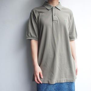 LACOSTE Polo Shirt dark khaki