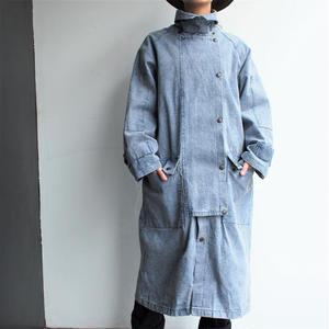 Chemical denim Long coat