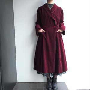 1950's corduroy gown coat