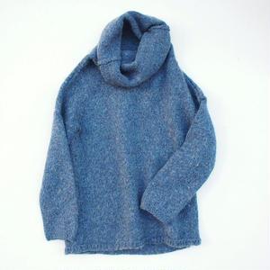 Euro Blue knit
