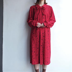 Made in England  red dot dress