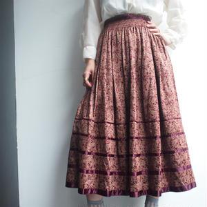 Austria flare skirt